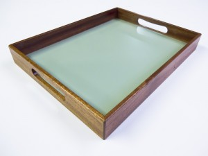 Client image for Hardwood tray